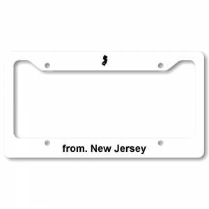 License Plate Frame - New Jersey