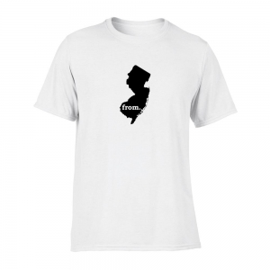 Short Sleeve Polyester T-Shirt - New Jersey
