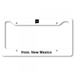 License Plate Frame - New Mexico