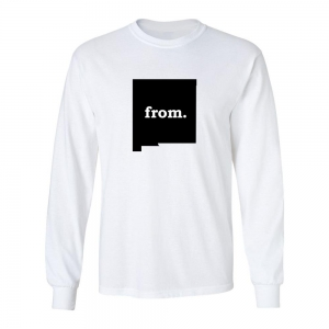 Long Sleeve Polyester T-Shirt - New Mexico
