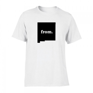 Short Sleeve Cotton T-Shirt - New Mexico
