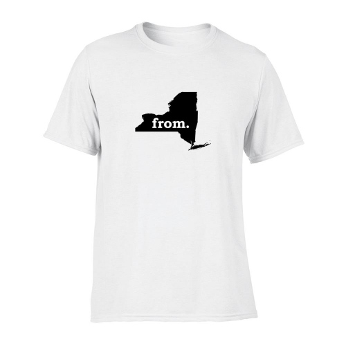 Short Sleeve Polyester T-Shirt - New York
