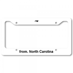 License Plate Frame - North Carolina