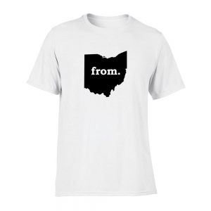 Short Sleeve Polyester T-Shirt - Ohio