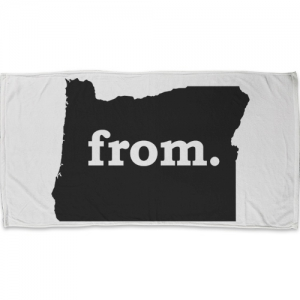 Towel - Oregon