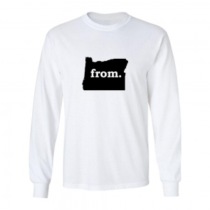 Long Sleeve Polyester T-Shirt - Oregon