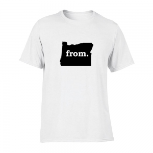 Short Sleeve Polyester T-Shirt - Oregon