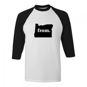 Raglan T-Shirt - Oregon