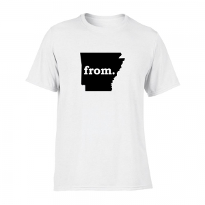 Short Sleeve Polyester T-Shirt - Arkansas