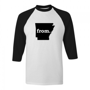 Raglan T-Shirt - Arkansas