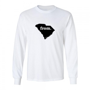 Long Sleeve Polyester T-Shirt - South Carolina