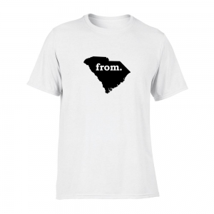 Short Sleeve Polyester T-Shirt - South Carolina